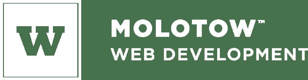 MOLOTOW Web Development Logo weiß