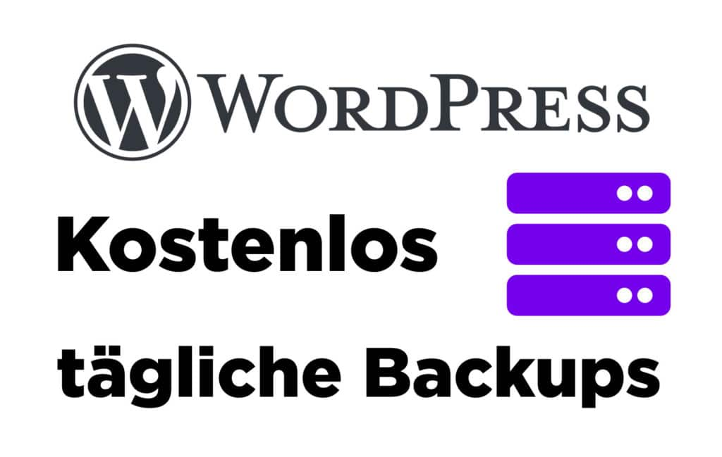 Kostenlose WordPress Backups