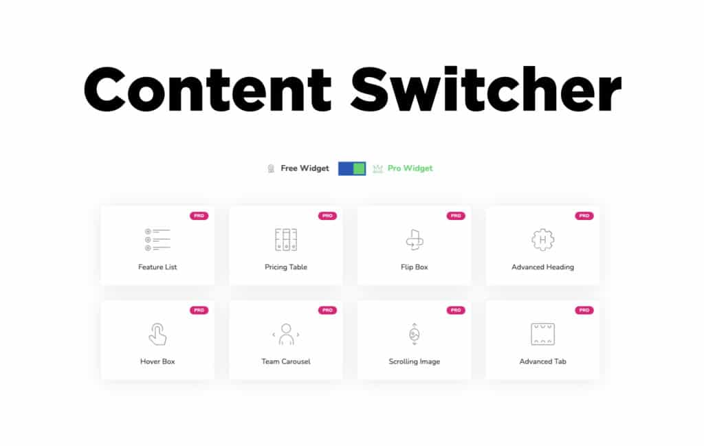 TYPORY Cloud Content Switcher