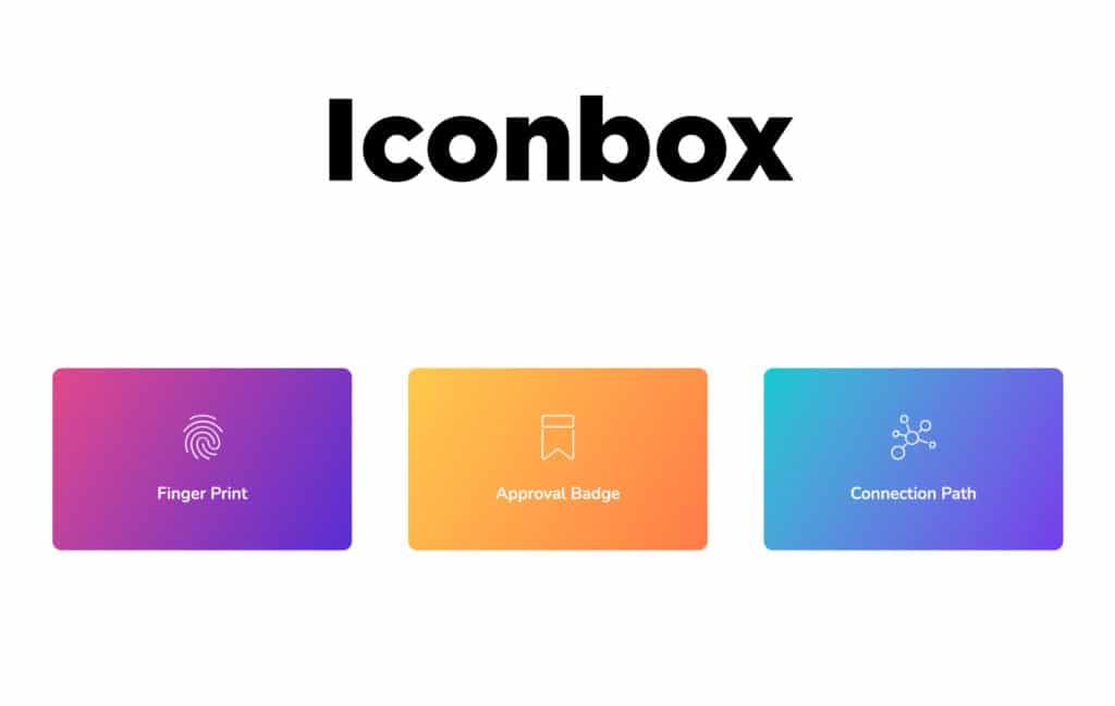 TYPORY Cloud Iconbox