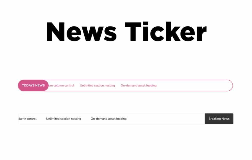 TYPORY Cloud News Ticker